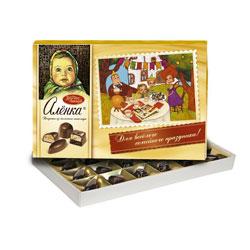 Набор конфет Красный Октябрь Аленка из молочного шоколада 185 гр