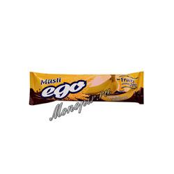 Батончики Мюсли Ego Банан в молочным в шоколаде