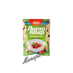 Matti Лакто Лайф Каша овсяная лесные ягоды