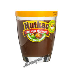 Паста Nutkao Domino шоколадная 200 гр