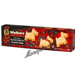 Бисквитное печенье Walkers Шотландский Терьер 150 гр