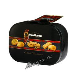 Бисквитное печенье Walkers Ассорти 130 гр