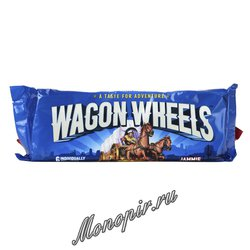 Бисквитное Печенье с джемом Wagon Wheels 228 гр