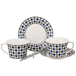 Кофейный набор Lefard на 2 персону 4 пр. 200 мл (760-432)