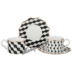 Чайный набор на 2 персоны 4 пред. 150 мл (761-044)