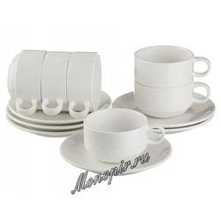 Чайный набор Lefard на 6 персон 12 предм. Hospitality 200 мл (199-061)