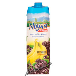 Нектар Noyan Premium банан-ежевика 1 л