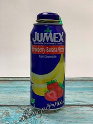 Нектар Jumex Nectar Strawberry-Banana. Клубника-Банан 473 мл