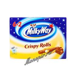 Батончики Milky Way Crispy Rolls 6x2