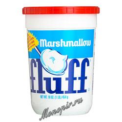 Зефир кремовый Fluff с ванильным вкусом 454 гр