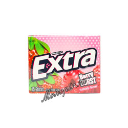 Жевательная резинка Wrigleys Extra Berry Burst