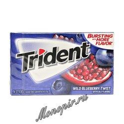 Жевательная резинка Trident Wild Blueberry