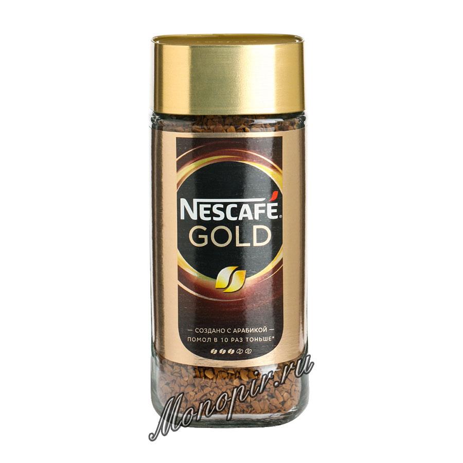 Кофе Nescafe Gold 95 гр ст.б