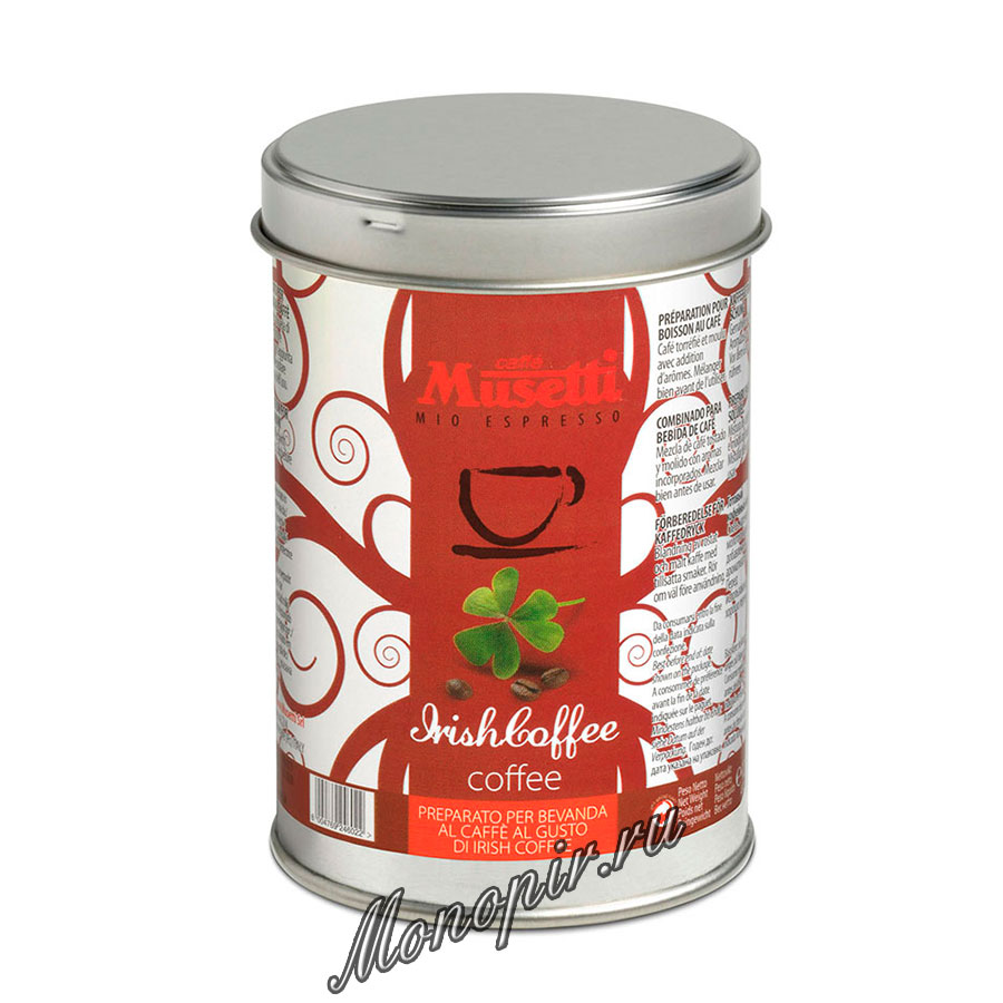 Musetti irish coffee 125 for Musetti coffee