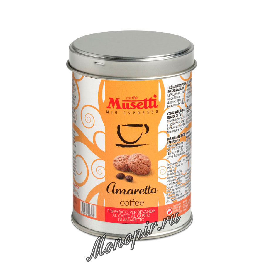 Musetti amaretto 125 for Musetti coffee