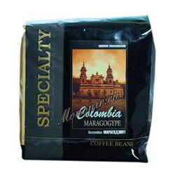 Кофе Блюз в зернах Colombia Maragogype 500 гр