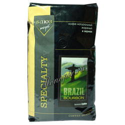 Кофе Блюз в зернах Brazil Bourbon 1 кг