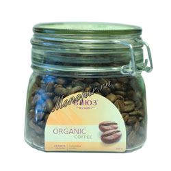 Органический кофе Блюз в зернах Colombia Excelso 200 гр