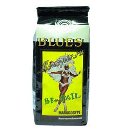 Кофе Блюз в зернах Brazil Maragogype 200 гр