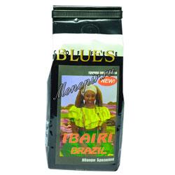 Кофе Блюз в зернах Brazil Ibairi 200 гр