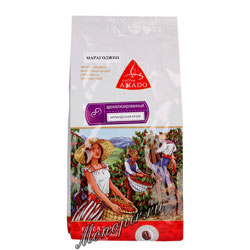 Кофе Amado в зернах Марагоджип Ирландский Крем 500 гр
