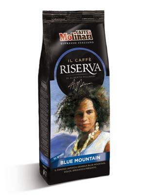 Кофе Molinari в зернах Jamaica Blue Mountain 250 гр