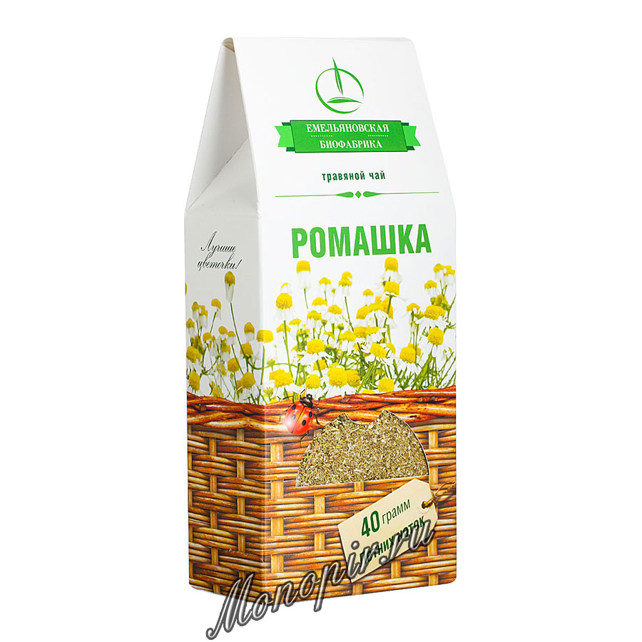 Емельяновская Биофабрика Ромашка 40 гр