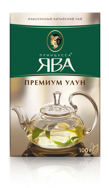 Чай Принцесса Ява Премиум Улун листовой зеленый 100 гр