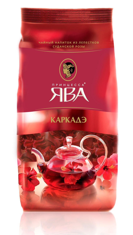 Чайный напиток Принцесса Ява Каркадэ 80 гр