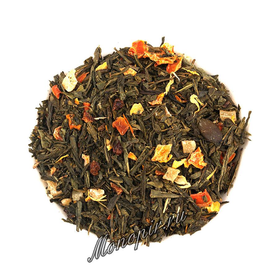 Облепиха чай зеленый