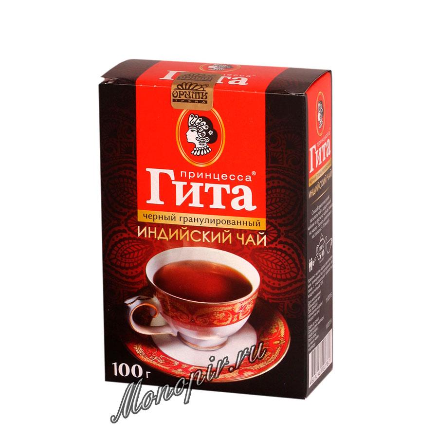 Чай Принцесса Гита Медиум Гранулиров. Черный 100 гр