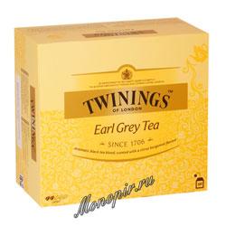 Чай Twinings Эрл Грей (50 пакетиков)