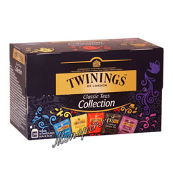 Чай Twinings Ассорти 5 вкусов (20 пакетиков)