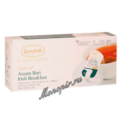 Чай Ronnefeldt Assam Bari / Ассам Бари в саше на чашку (Leaf Cup)