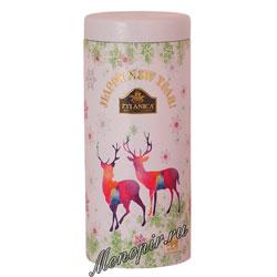 Чай Zylanica White Reindeer Christmas Pekoe черный 100 гр