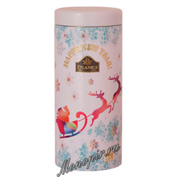 Чай Zylanica White Ded Moroz Christmas Pekoe черный 100 гр