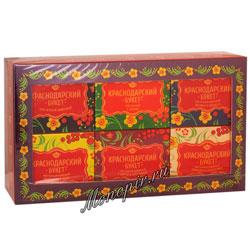 Краснодарский букет Подарочный набор чая 6 уп-50 гр