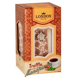 Lоndon Tea Club Черный чай Трюфель 100 г в фарфоровой чайнице