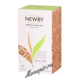 Чай Newby Зеленая сенча 25 шт
