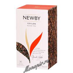 Чай Newby Цейлон 25 шт