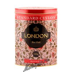 Чай LTC Standart Ceylon черный 100 гр ж.б.
