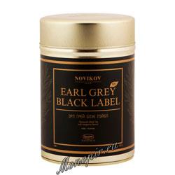 Чай Ronnefeldt Novikov Earl Grey Black Label / Эрл Грей Блэк Лейбл 100 гр
