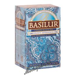 Чай Basilur ВОСТОЧНАЯ Морозный день в пакетиках 20х2гр