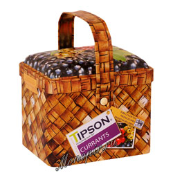 Чай Tipson Basket Currants/Лукошко Смородина 80 гр