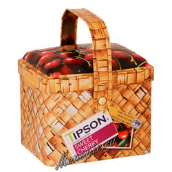 Чай Tipson Basket Sweet Cherry/Лукошко Вишня и Черешня 80 гр