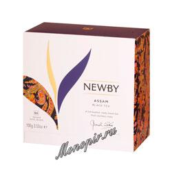 Чай Newby Черный Ассам 50 пак.