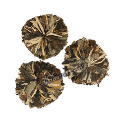 Связанный чай Люй Му Дань Зеленый Пион с ароматом лесных ягод