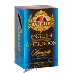 Чай Basilur Избранная классика Englsih Afternoon 20 пак