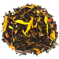 Черно-зеленый чай с праздником, праздничный онегин (Феникс)
