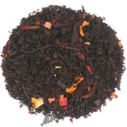 Чай черный клюква с ванилью